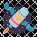 Cosmonaut Shuttle Icon
