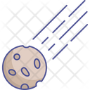 Asteroid Meteorite Space Icon