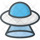 Cosmos Space Ufo Icon