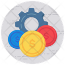Cost Currency Configuration Cost Management Icon
