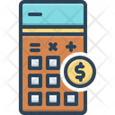 Cost Be Priced At Calculate Icon