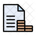 Cost Budget Accounting Icon