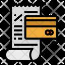 Cost Bill Receipt Icon