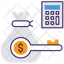 Cost Control Budgeting Cost Budgeting Icon