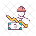 Employee Finance Person Icon