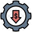 Cost Effective Money Management Risk Icon