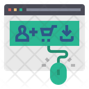 Cost Per Acquisition Cpa Pay Per Acquisition Online Shopping Icon