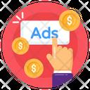 Cost Per Click Icon