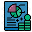 Cost Planning Financial Plan Marketing Icon