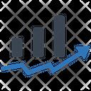 Cost Report Startup Statistics Icon