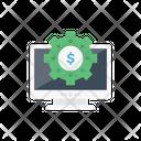Cost Setting Dollar Setting Dollar Icon