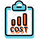 Cost Statement Cost Report Icon