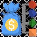 Cost Structure Revenue Icon