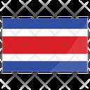 Costa Rica International Nation Icon