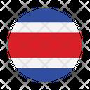 Costa Rica International Global Icon