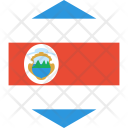 Costa Rica Flag Icon