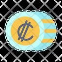 Costa Rican Colon International Money Icon