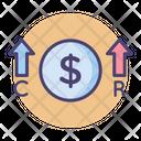 Costs Vs Revenues Icon