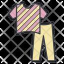 Costume Pajamas Color Icon