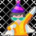 Costume Boy Party Icon