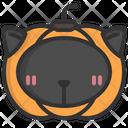 Horror Cat Halloween Icon