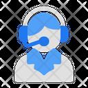 Costumer Service Support Ecommerce Icon