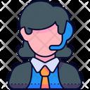 Costumer Service Admin Support Icon