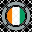 Cote Divoire Flag Icon