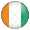 Cote Divoire Flag Icon