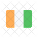 Cote Divoire Flag Country Icon