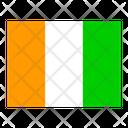Cote Dlvoire Flag Flags Icon