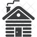 Cottage Cabin Wood Icon