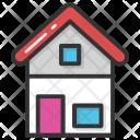 Cottage Hut Home Icon