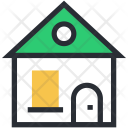 Cottage Home Hut Icon