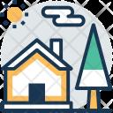 Cottage Shanty Lodge Icon