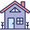 Cottage Home Rural House Icon