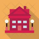 Cottage Bungalow House Icon