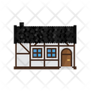 Cottage Countryside House Icon
