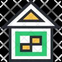 Cottage Home Hut Icon