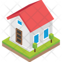 Cottage Shack Villa Icon