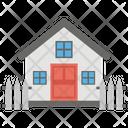 Cottage Hut Storage Icon