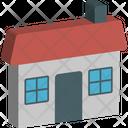 Cottage Farmhouse Home Icon