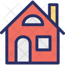 Cottage Dwelling Home Icon