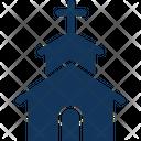 Christian Church Church Home Icon