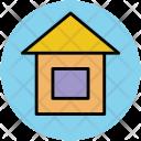 Cottage Hut Lodge Icon