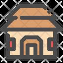Cottage House Village Icon
