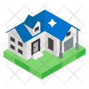 Cottage City Home Urban Home Icon