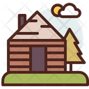 Cottage Cabin Home Icon