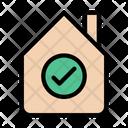 Cottage Shelter Realestate Icon