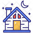 Cottage Cabin Countryside Icon